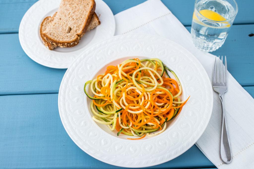 spiralized veggies WEB
