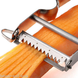 serrated vegetable peeler